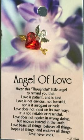 Angel of Love Pin