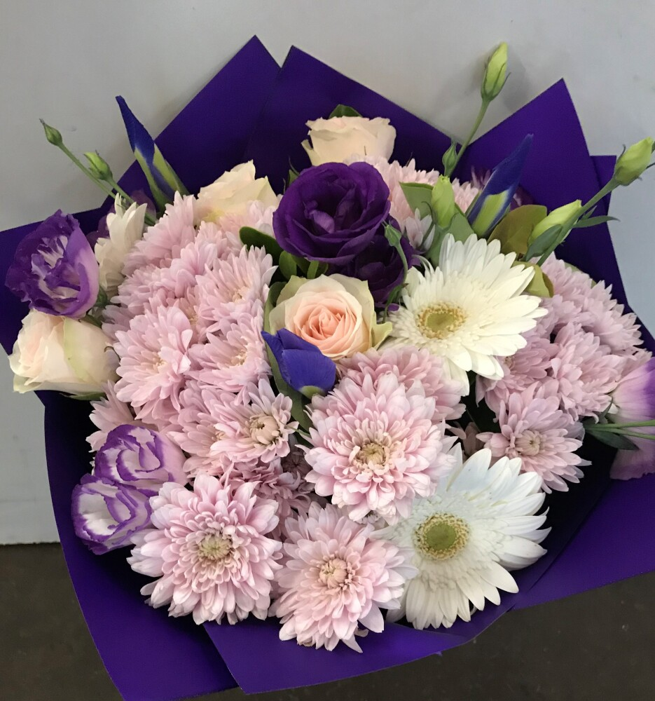 Heartfelt Pastel Flower Bouquet