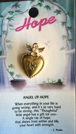 Angel of Hope Pin