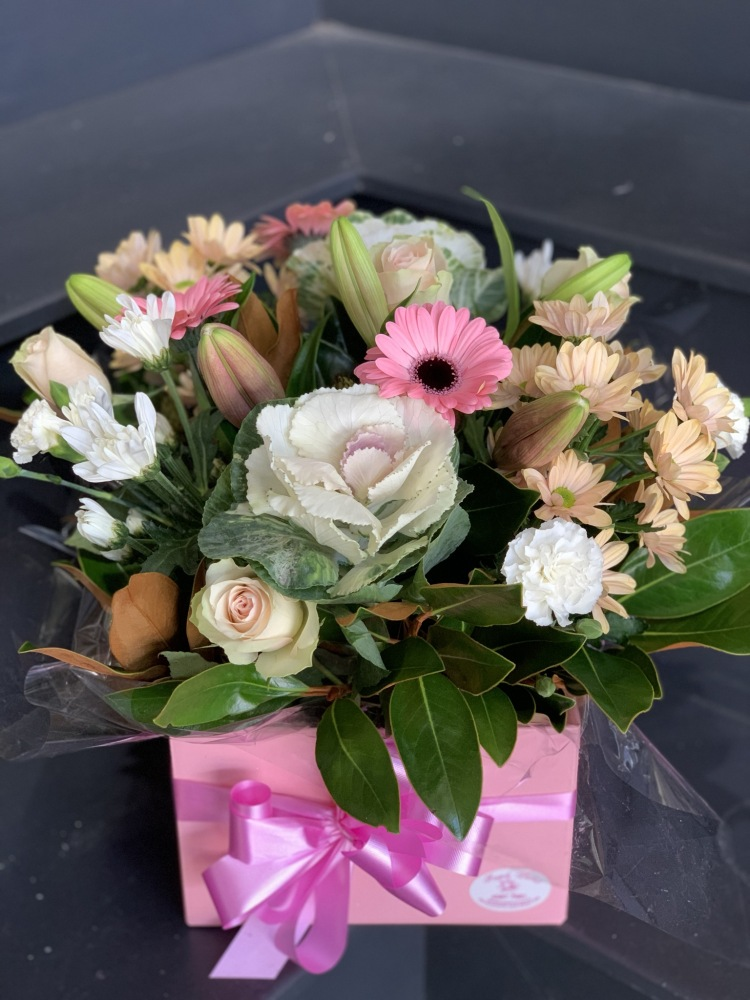 Bloom  Seasonal Pastel Beauty Arrangement