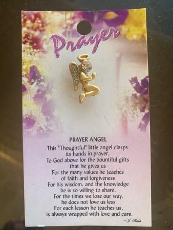 Prayer Angel Pin