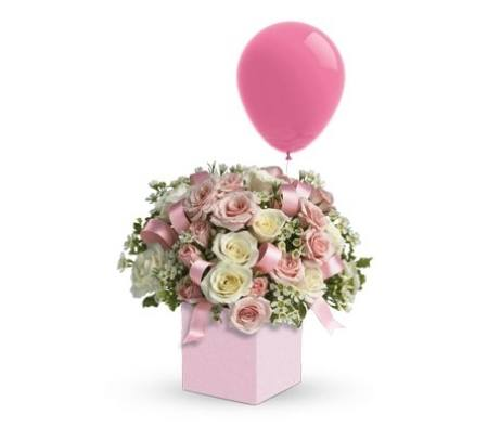 It`s a Girl Flower Arrangement