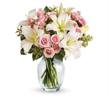 Fleur Delight (Flower Posy Bouquet in vase)