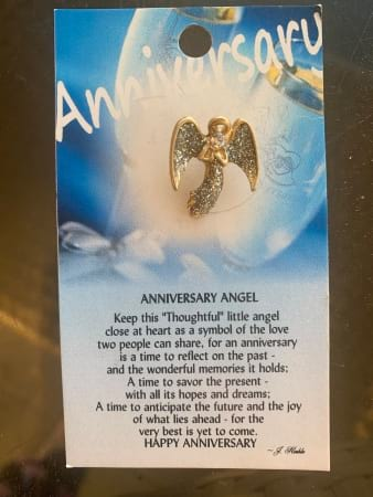 Anniversary Angel Pin