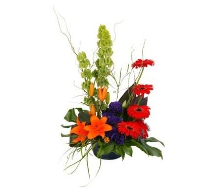Funky (Bright Flower Arrangement)