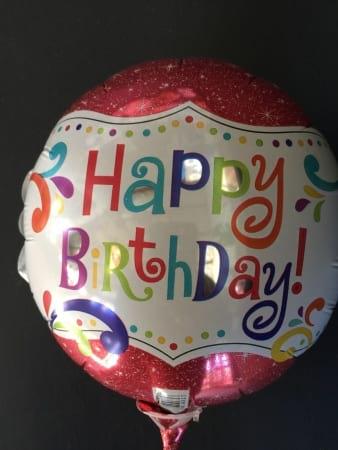 Medium Happy Birthday Foil Balloon