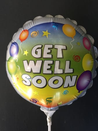 Medium Get Well Foil Balloon