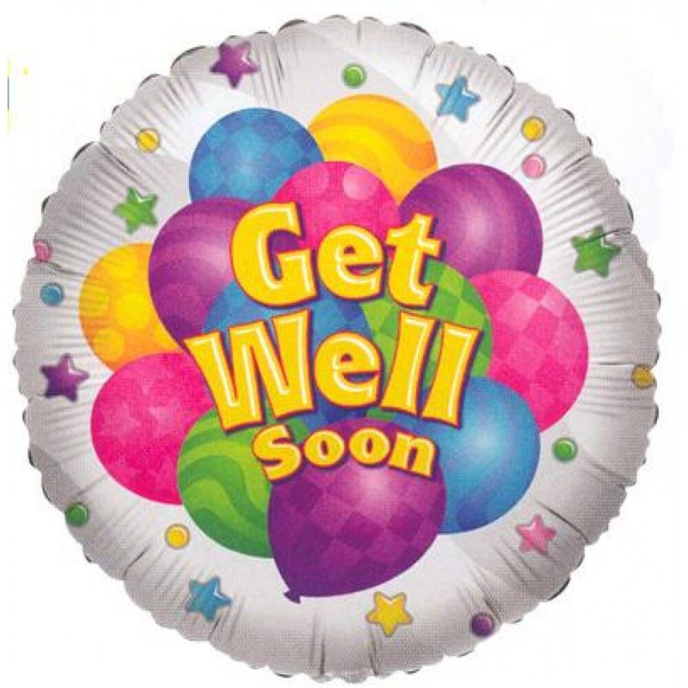 Get Well Soon Foil Balloon