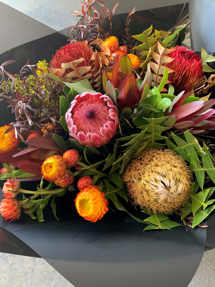 The Outback -Seasonal  Natives Bouquet