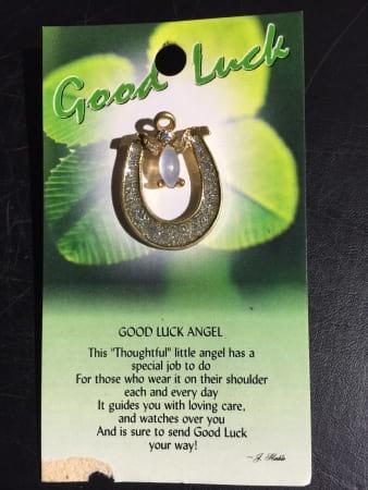 Angel of Good Luck Angel Pin