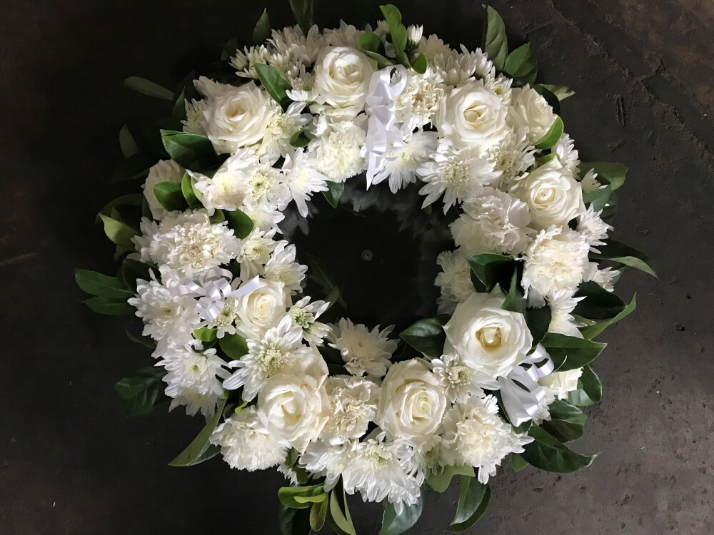 Seasonal Floral Wreath