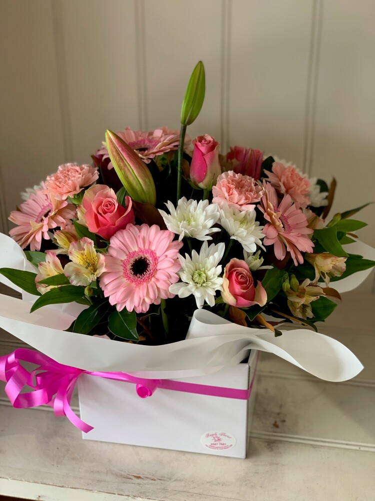 Blush (Pastel Flower Arrangement)