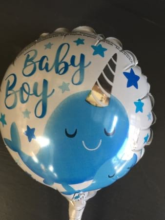 Small It`s A Boy Foil Balloon