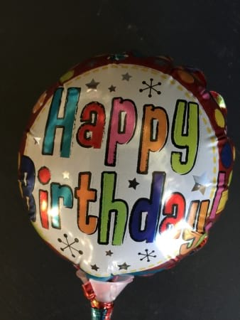 Small Happy Birthday Foil Balloon