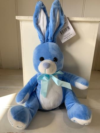 Soft Blue Bunny Rabbit