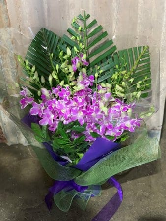 Trocpical Singapore Orchid Bouquet