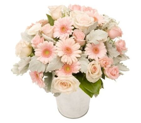 Bucket of Joy (Pastel Flower Arrangement)