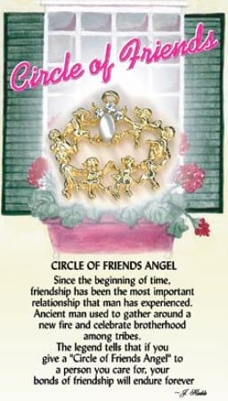 Circle of Friends Angel Pin