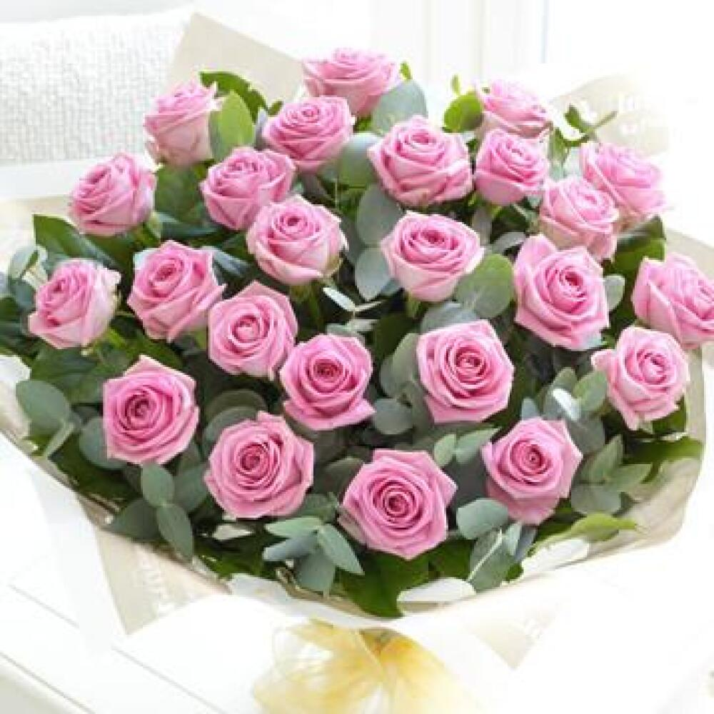 Dreaming  24 Pink Roses Bouquet