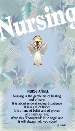 Nurse Angel Pin