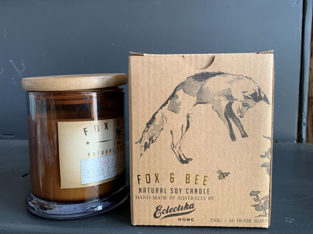 Fox and Bee Natural Soy Candle
