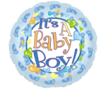 It`s A Boy Foil Balloon