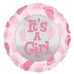 It`s A Girl Foil Balloon